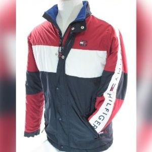 Tommy Hilfiger Colorblock  Spell Out Ski Jacket